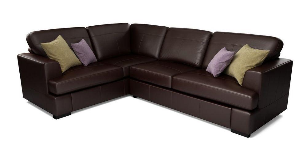 Phenomenal Freya Leather Right Hand Facing 2 Piece Corner Deluxe Sofa Machost Co Dining Chair Design Ideas Machostcouk