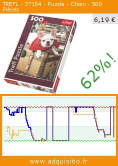 TREFL - 37154 - Puzzle - Chien - 500 Pièces (Jouet). Réduction de 62%! Prix actuel 6,19 €, l'ancien prix était de 16,50 €. https://www.adquisitio.fr/trefl/37154-puzzle-chien-500