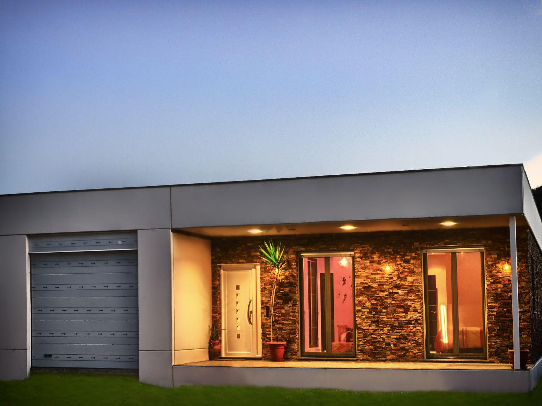 Casa prefabricada de dise o moderno finestrat ceprex - Casas prefabricadas a coruna ...