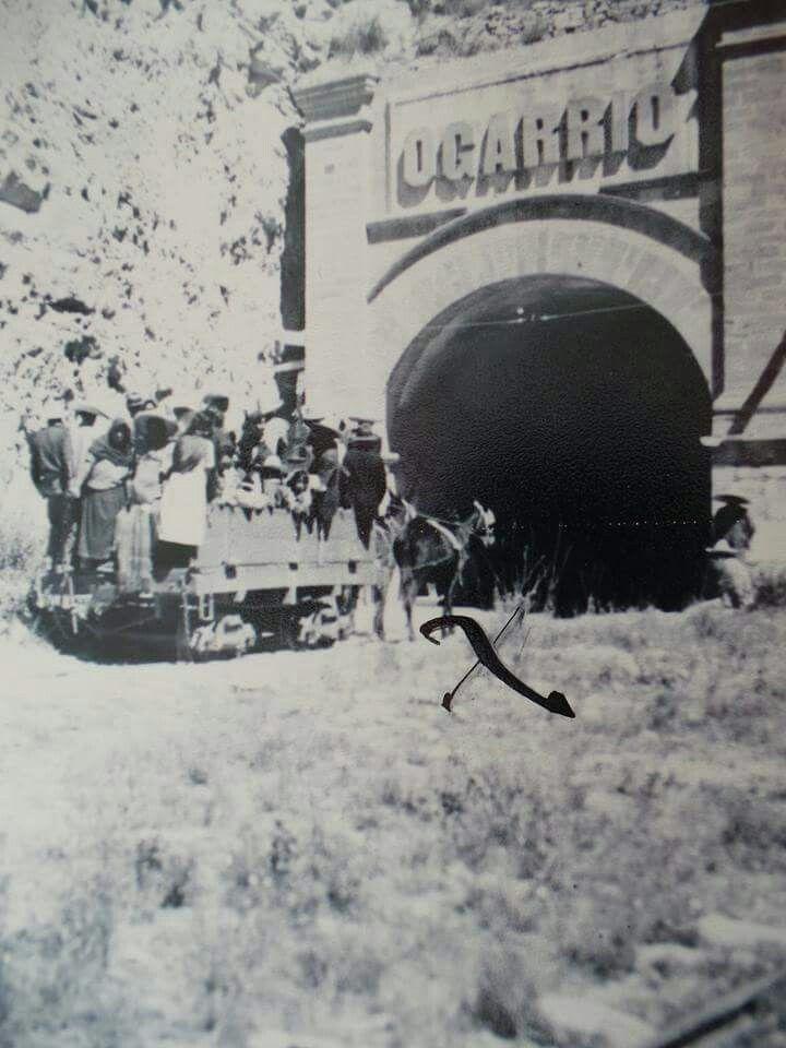 3a. Época del tranvía de  REAL DE CATORCE....Cerca de Matehuala Slp.