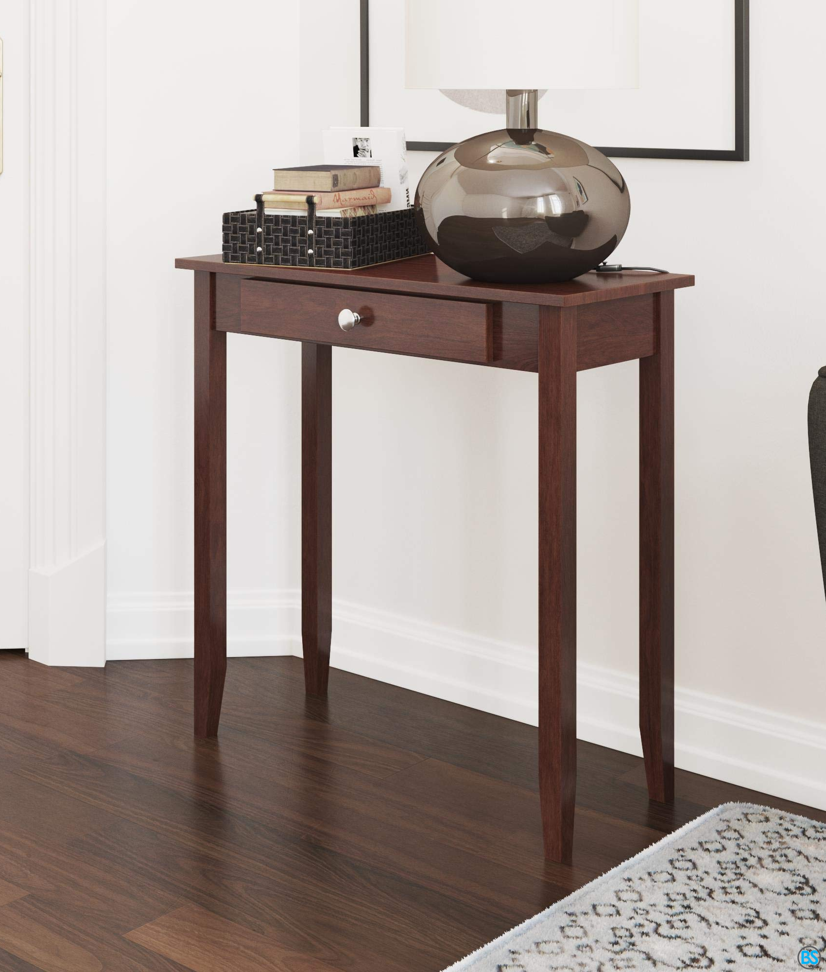 Sofa Dhp Rosewood Tall Coffee Table In 2020 Tall Coffee Table Console Table Living Room Tall End Tables