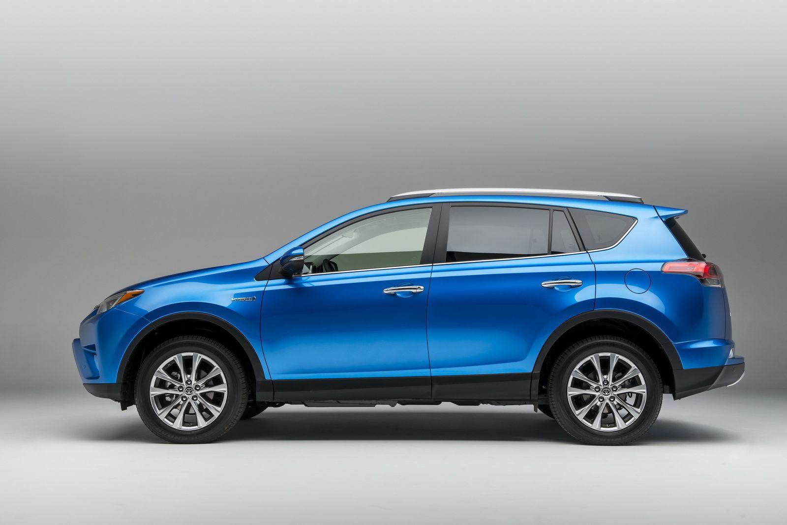 2016 toyota rav4 hybrid updated styling side views