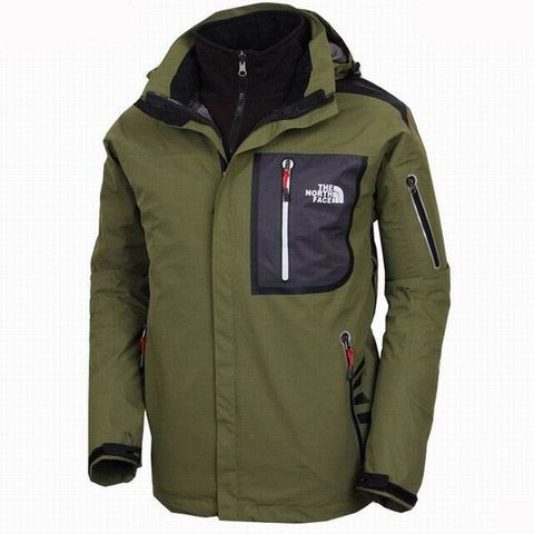 Mens The North Face Triclimate 3 In 1 Jacket Green
