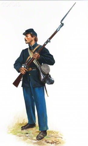 United States Civil War, Union Army ~ BFD
