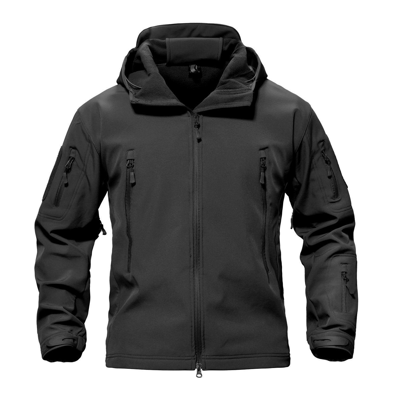 Men S Special Ops Military Tactical Soft Shell Jacket Coat Black Ce1859emdlq Tactical Jacket Mens Military Jacket Jackets Men Fashion [ 1500 x 1500 Pixel ]