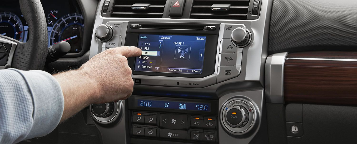 Limited 4x4 Interior Shown In Redwood Leather With Entune Premium Jbl Audio With Navigation 9