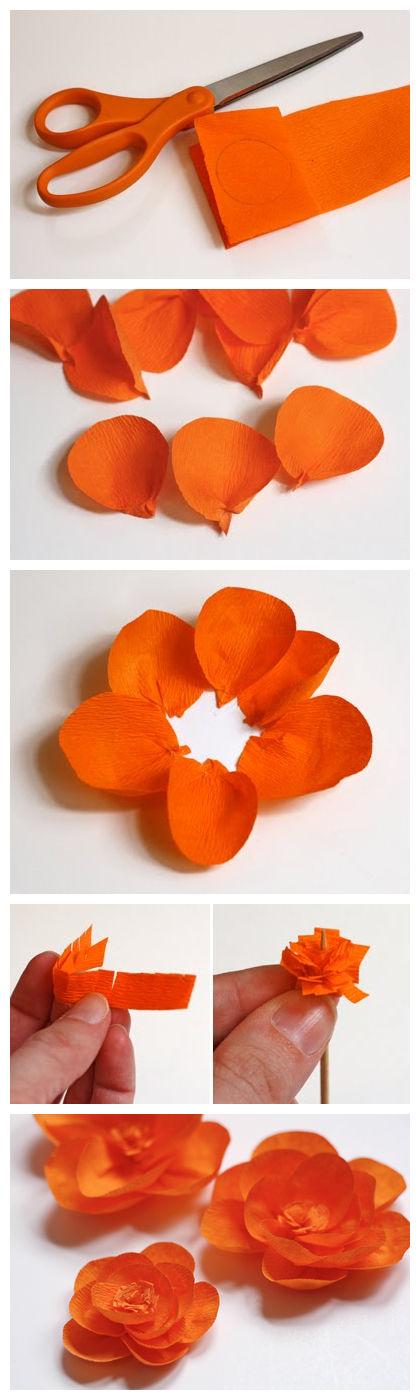 Paper ribbon flower making kubreforic recent posts mightylinksfo