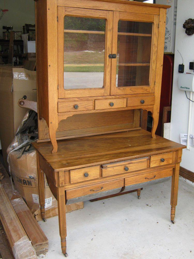 Oak Possum Belly Kitchen Cabinet #Traditional - Oak Possum Belly Kitchen Cabinet Restoration Parts/supplies