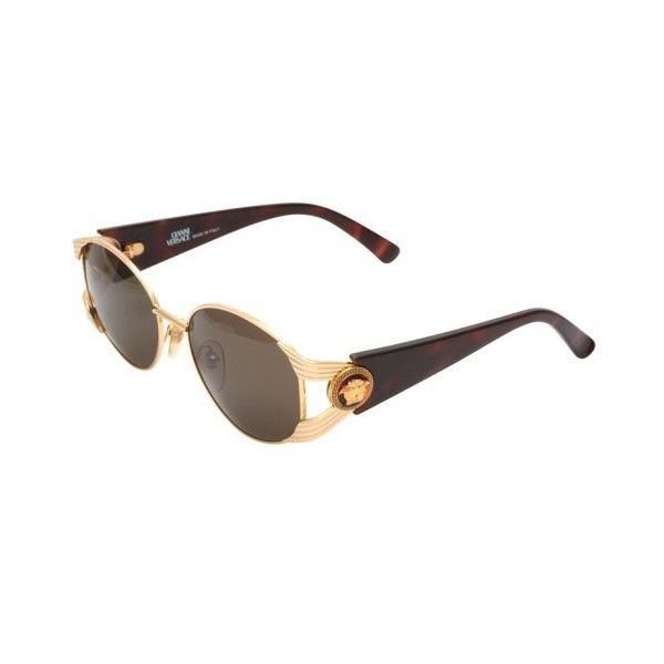 2a11571f770 VINTAGE GIANNI VERSACE SUNGLASSES MOD S64 COL 030 ❤ liked on Polyvore
