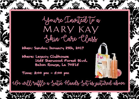 Mary Kay Skin Care Class Invitation By Loveswoodworkingllc On Etsy Mary Kay Skin Care Class Mary Kay Party Invitations Mary Kay Skin Care