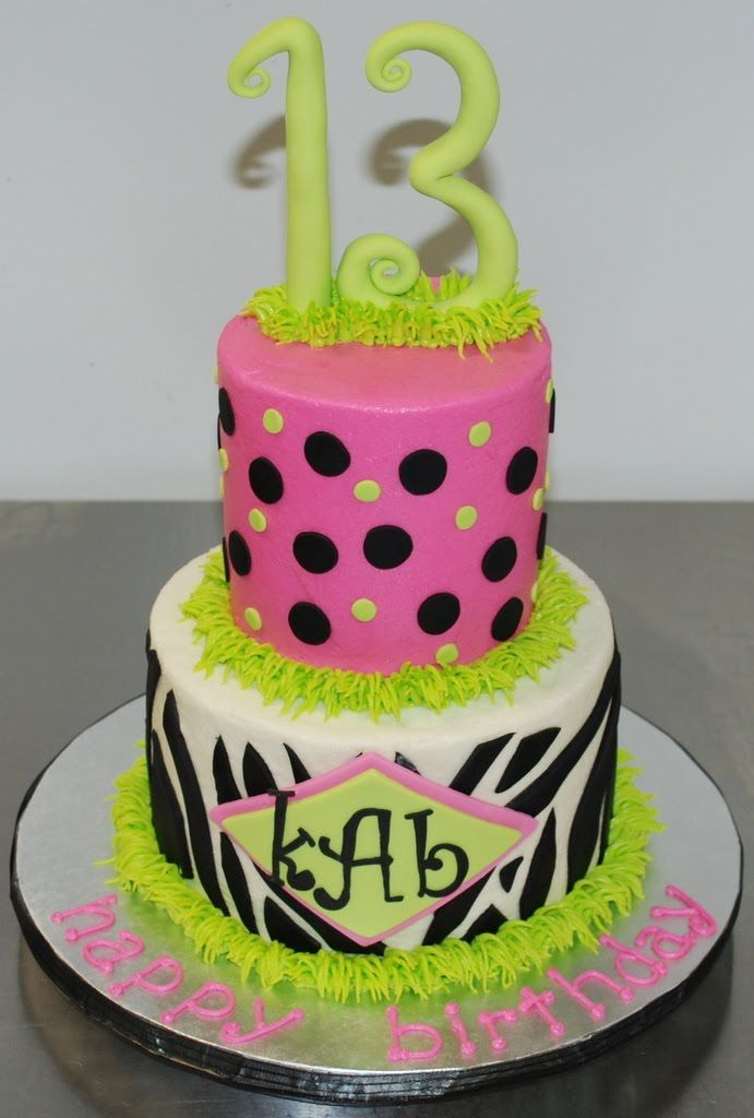 13th Birthday Party Cakes Google Search Teen Birthday Party