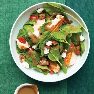 LEAFY MAIN DISHES Our collection of substantial main-course salads are quick to prepare and delicious -- perfect for busy weeknight dinners...