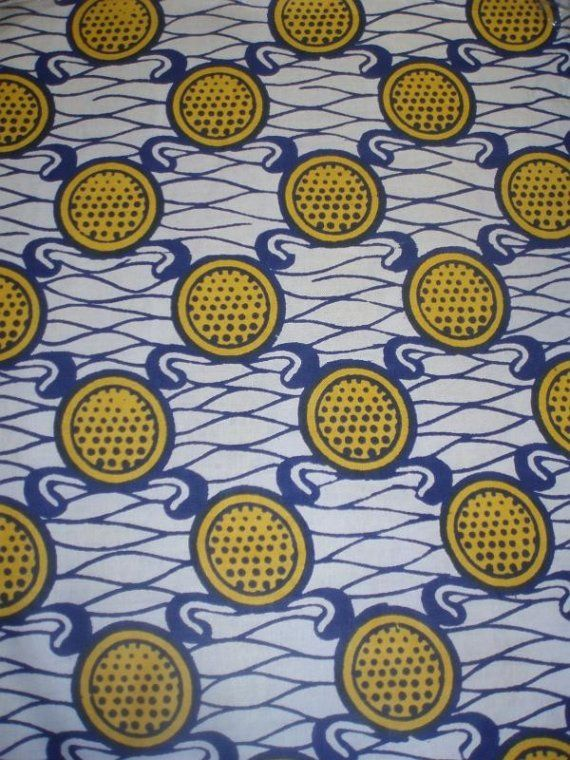 (west) African fabric