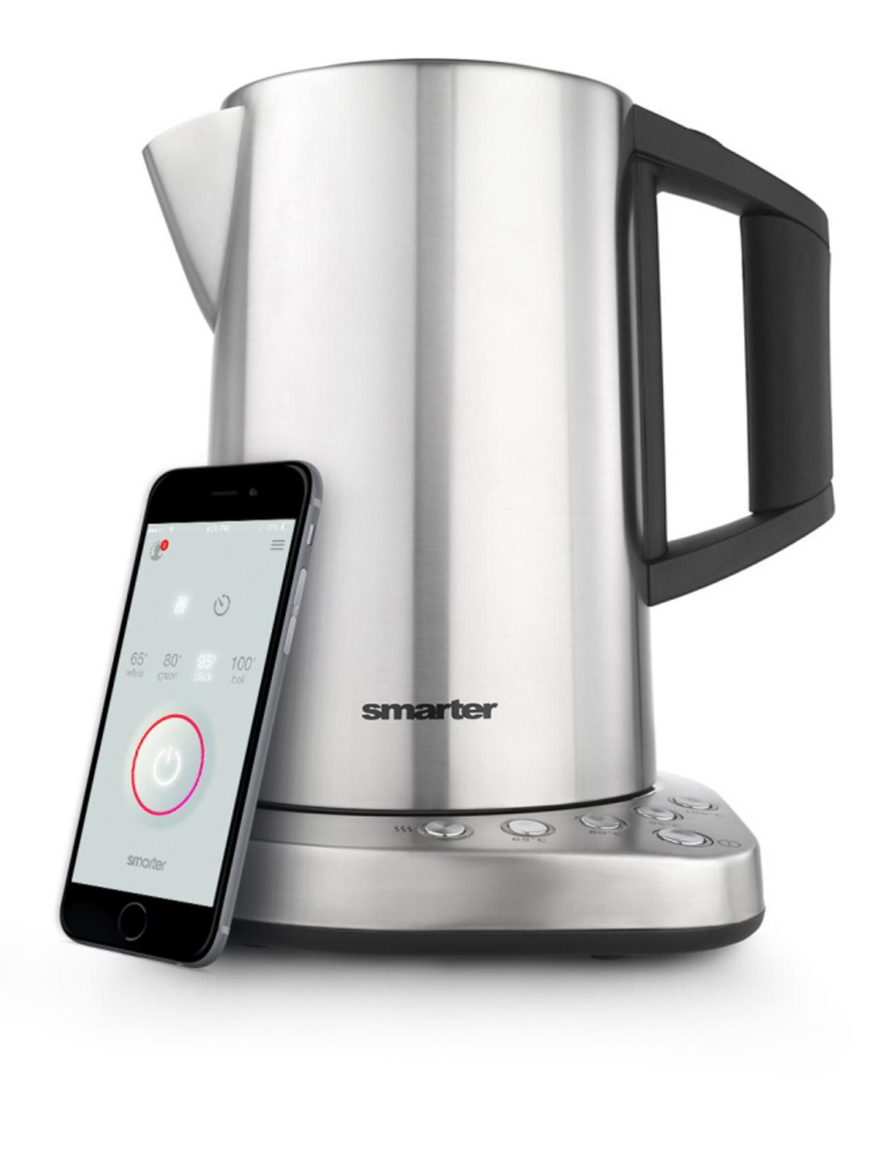 If you boil a lot of tea, this Wi-Fi-enabled kettle claims to be able to save you up to two days a year in boiling time by allowing you to pre-boil your kettle via app. Pick your temperature, then heat things up your tea time from wherever you are.