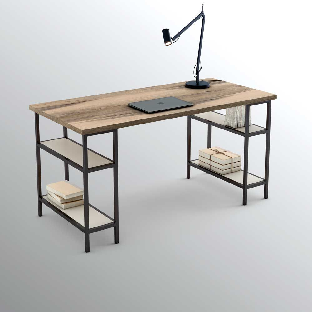 Pieza two del programa olut el caballete para crear mesas - Mesas de estudio ...
