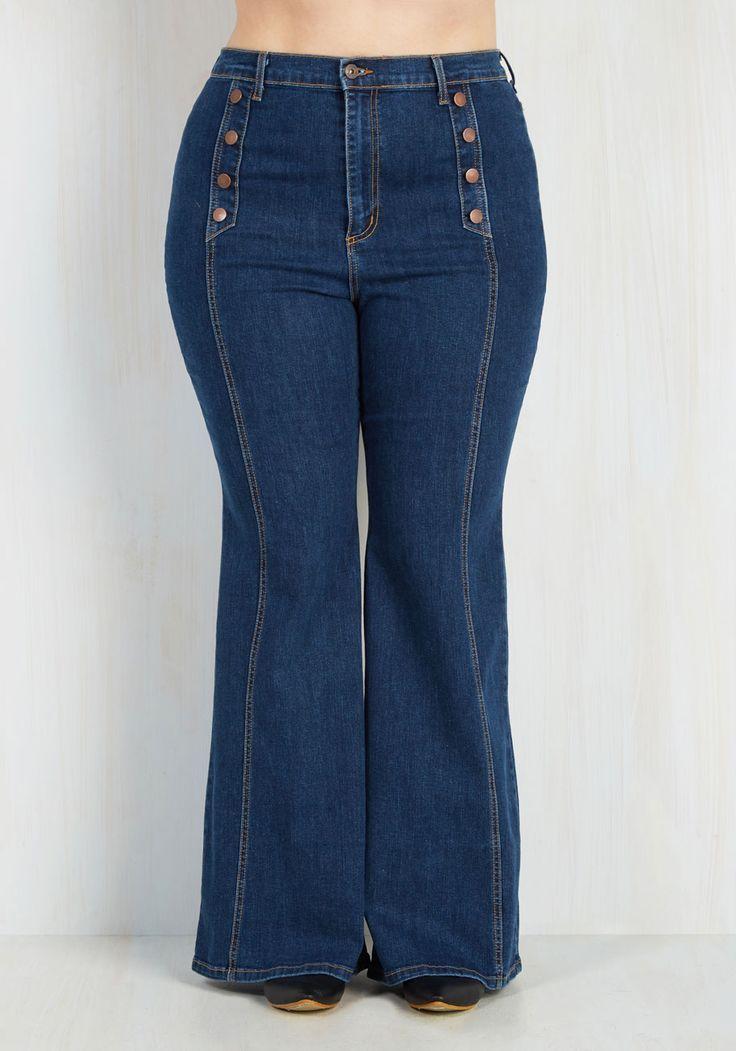 1b35c8bd7ce Plus Size Flare Jeans - 1X-3X   Plus Size Fashion   Flare jeans ...