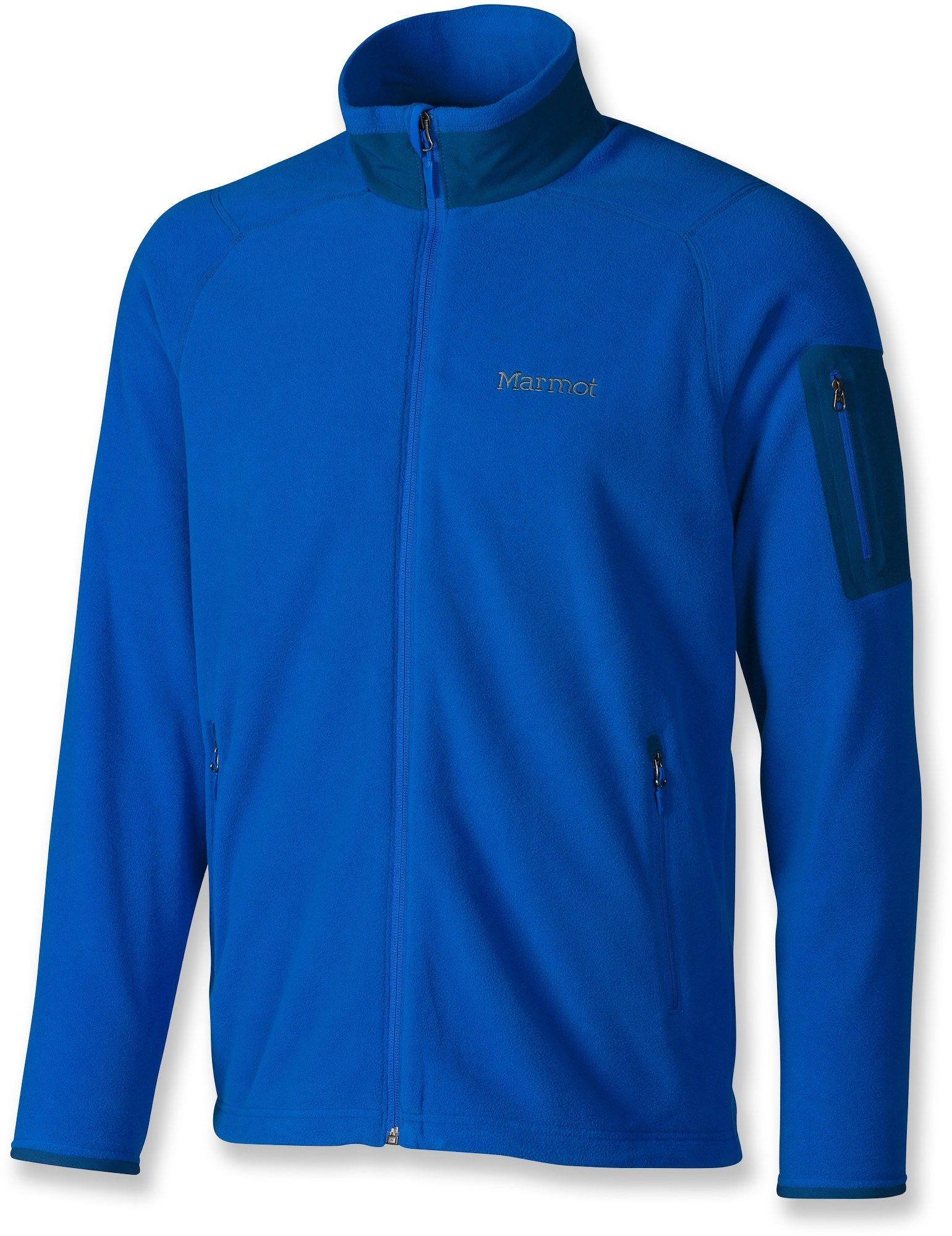 Marmot male reactor fleece jacket menus apparel u accessories