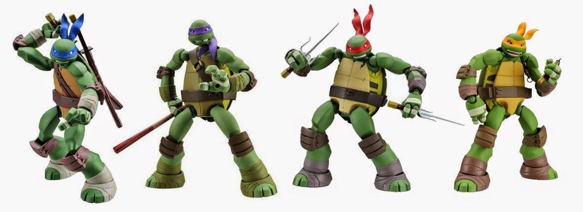 The Huh?: New Kaiyodo Revoltech Teenage Mutant Ninja ...Ninja Turtles Toys Nick