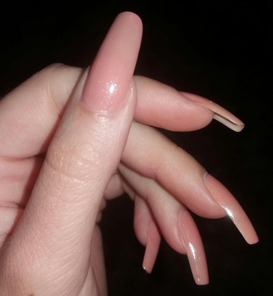 Pinterest Royaltraship Long Natural Nails Curved Nails Nails