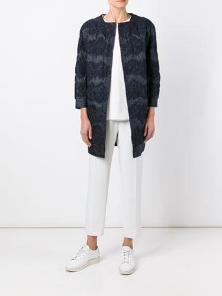 Ermanno Scervino пальто с кружевной отделкой