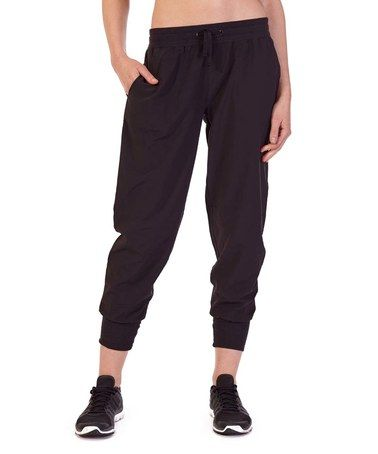 Another great find on #zulily! Black Zumba Joggers #zulilyfinds