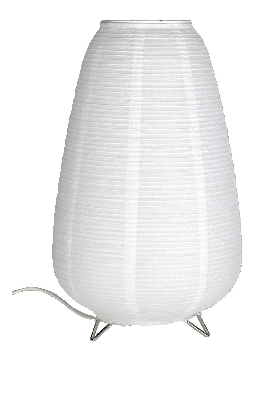 Shiro Tischleuchte 37cm Aus Weissem Papier Papierlampen Tischleuchte Papier Herstellen