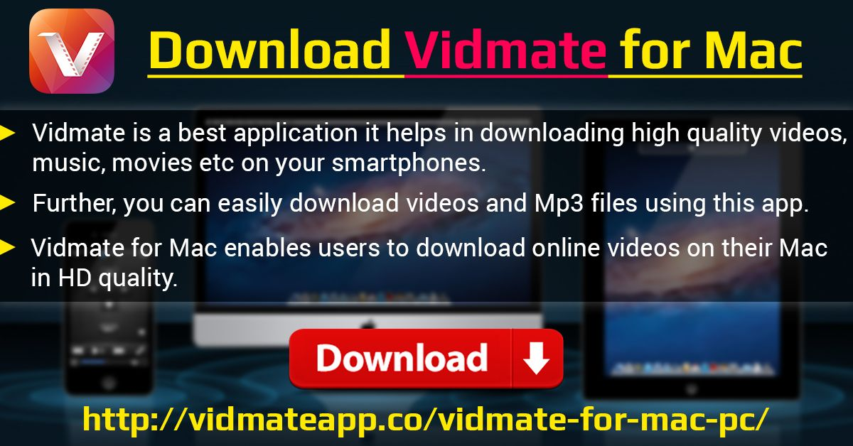 Vidmate is a best application it helps in downloading high