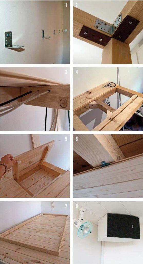 Soppalco in legno fai da te fai da te e hobby loft mezzanine e bedroom - Costruire letto a soppalco ...