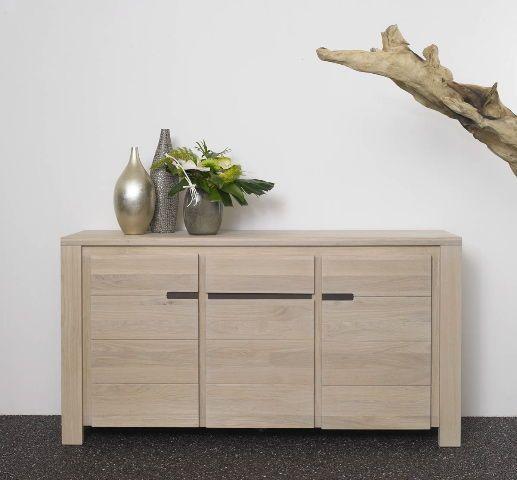 meuble chene blanchi - Recherche Google salon Pinterest Salons - Repeindre Un Meuble En Chene