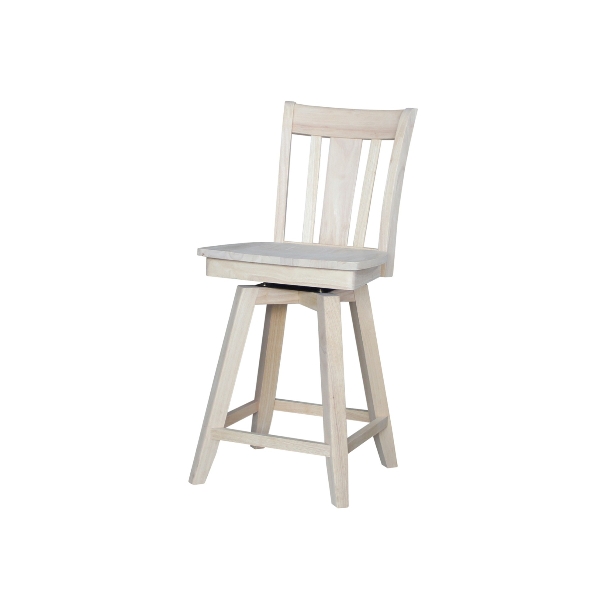 San Remo 24 Swivel Counter Stool Unfinished International