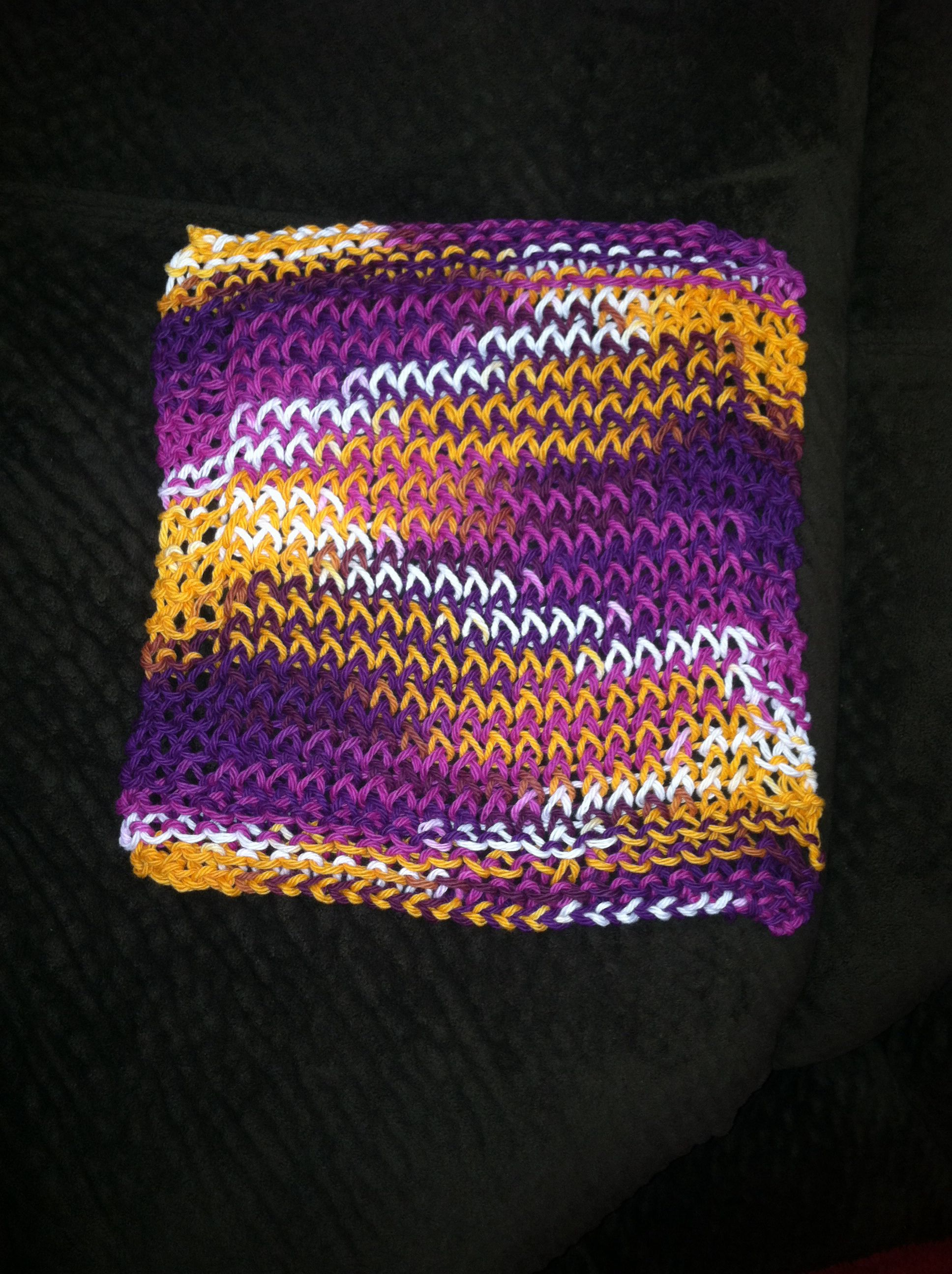 Dishcloth Loom Knitting Knitting Loom Knitting Loom