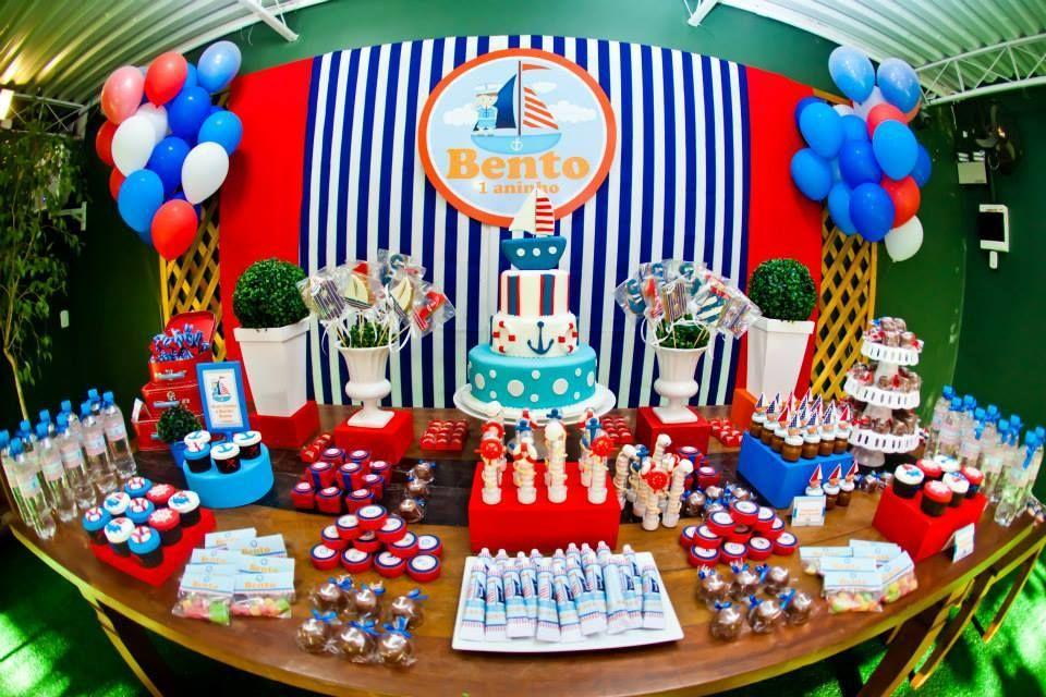 Per Bambini festas | Marinheiro do Bento - 1 aninho