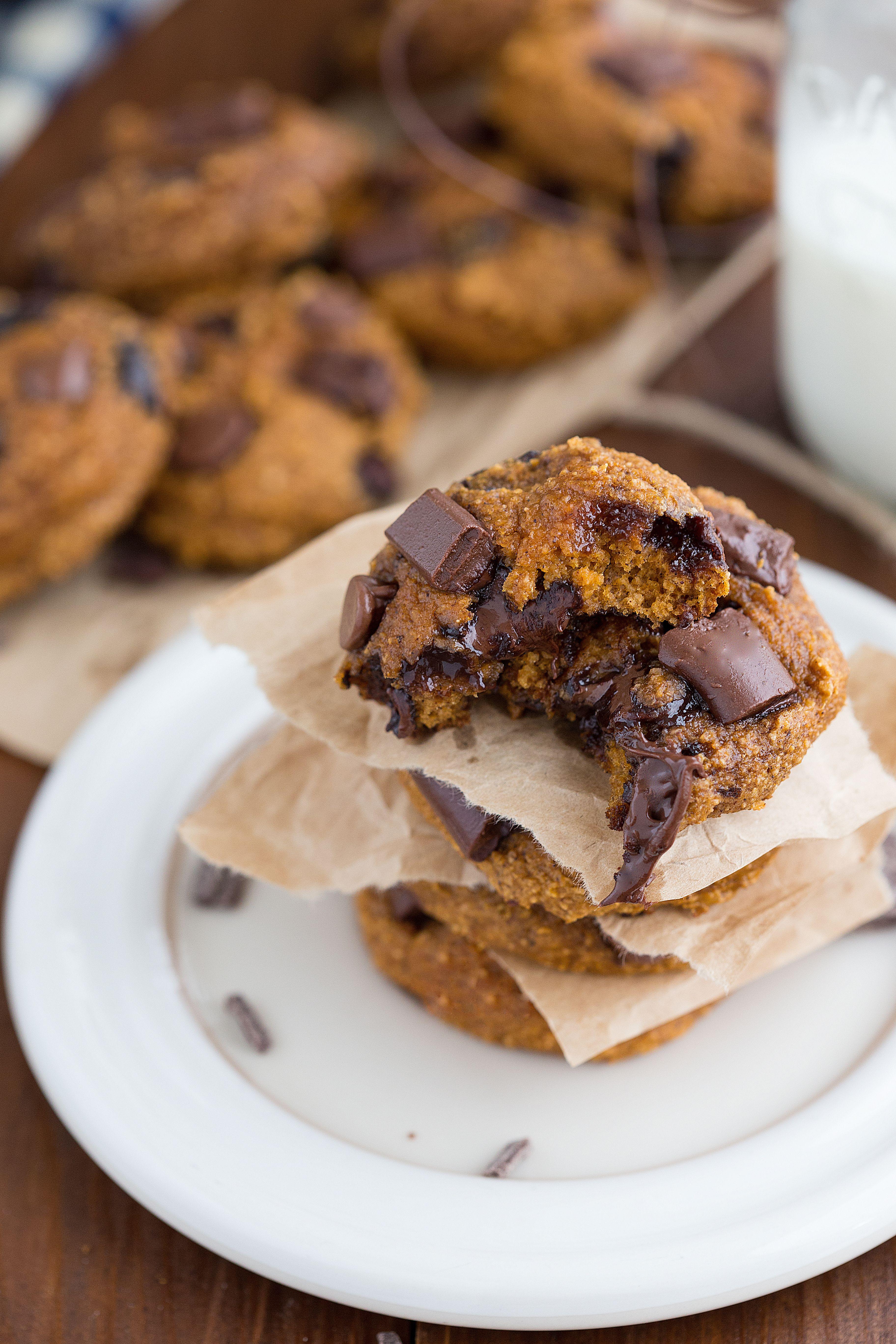 펌킨 초코칩 쿠키