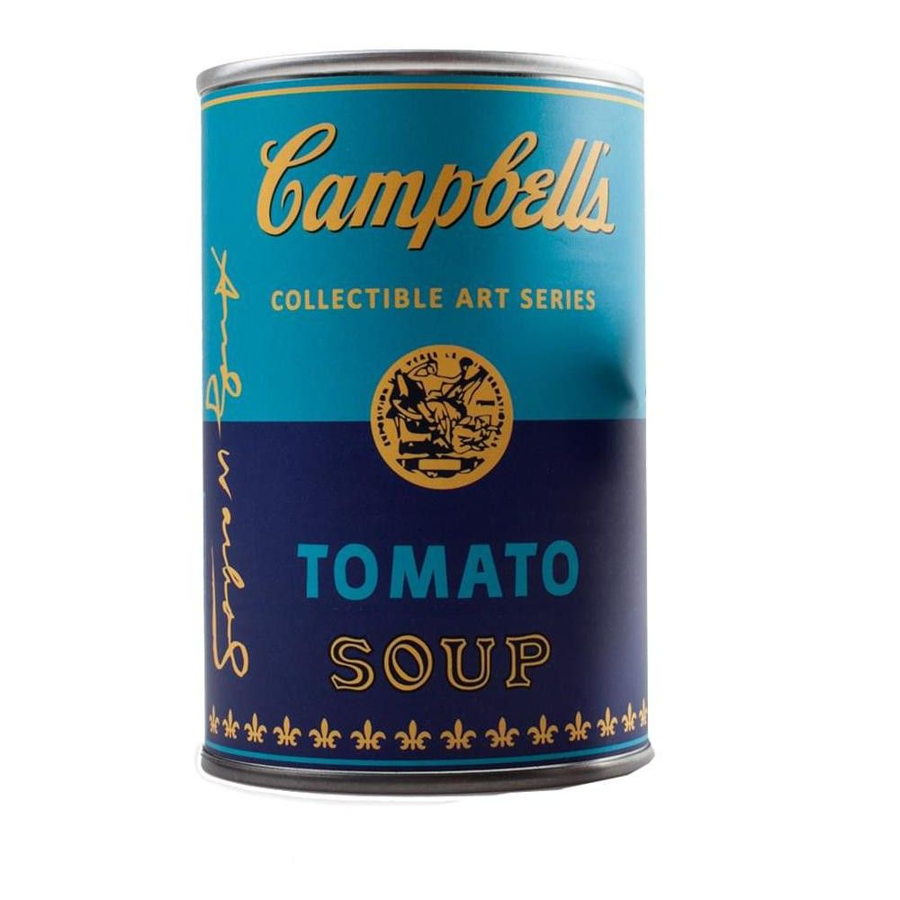 ONE MYSTERY SOUP CAN ANDY WARHOL CAMPBELL/'S SOUP CAN SERIES 2 MINI-FIGURES