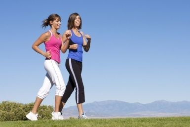 """By Sophie Keough Bummer. A few years back a large research survey called the National Runners and Walkers Health Study made national headlines by declaring """"greater weight loss from running than walking.""""The survey of 15,237 walkers and 32,215 runners found that over a six-year period runners maintained their weight better than the walkers. But what if you don't like to run? What if you are carrying around extra weight and the constant pavement pounding would wreak havoc on your knees?…"""