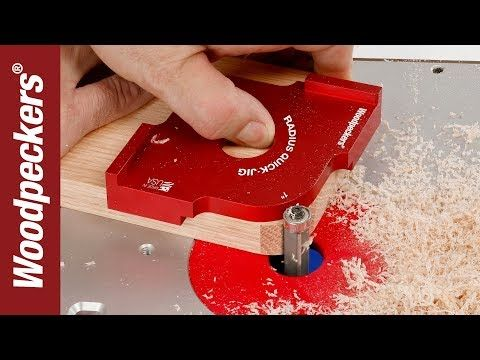 Easily Round Corners With Your Router Table | Radi