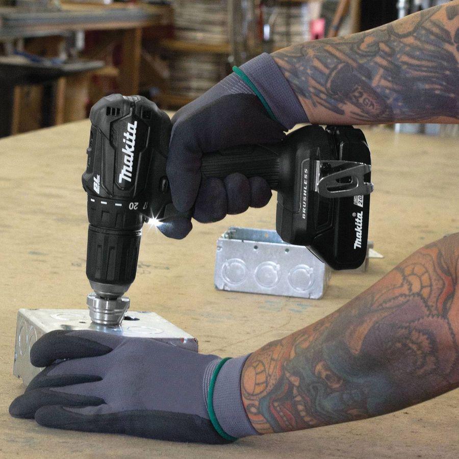 Makita 18v Lxt Brushless Cordless Impact Driver Drill