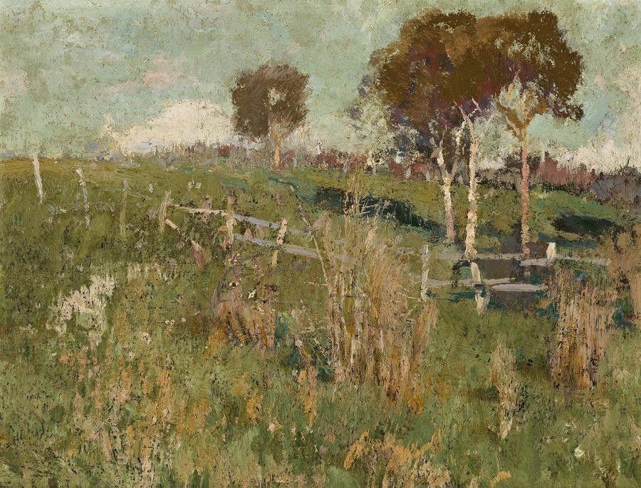 David Davies Landscape 1895c