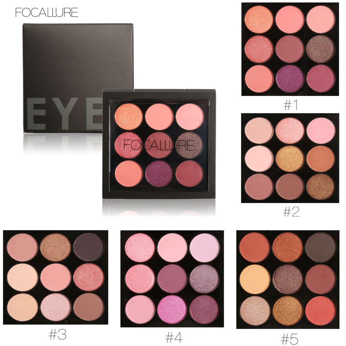 4.99 AUD 9 Colors Matte Shimmer Eyeshadow Eye Shadow