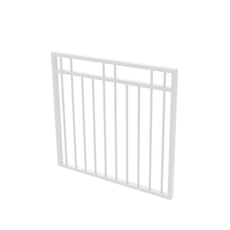 Protector Aluminium 975 X 900mm Double Top Rail 2 Up 2 Down Garden Gate To Suit Gudgeon Hinges Pearl White Aluminum Pool Fence Garden Gates Aluminium Gates