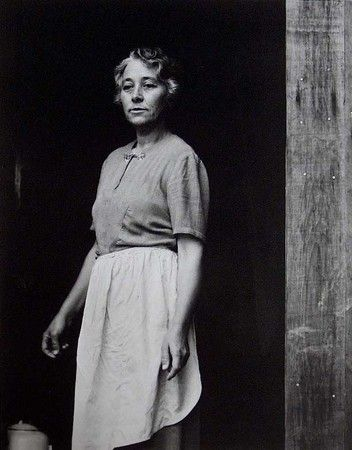 Susie Wass Thompson - Artist (my great aunt) photographed by famous photographer Paul Strand