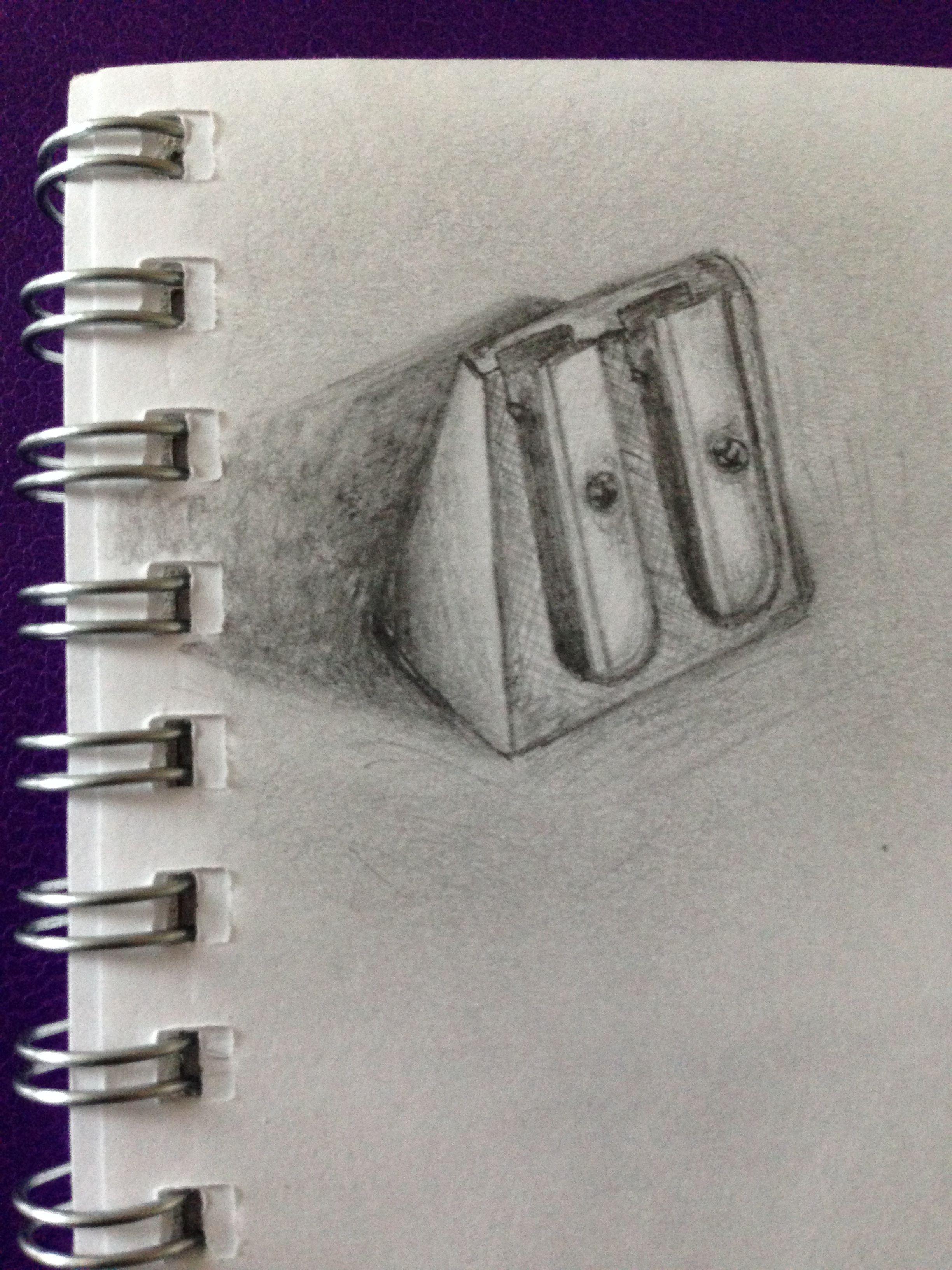 Quick sketch of a pencil sharpener