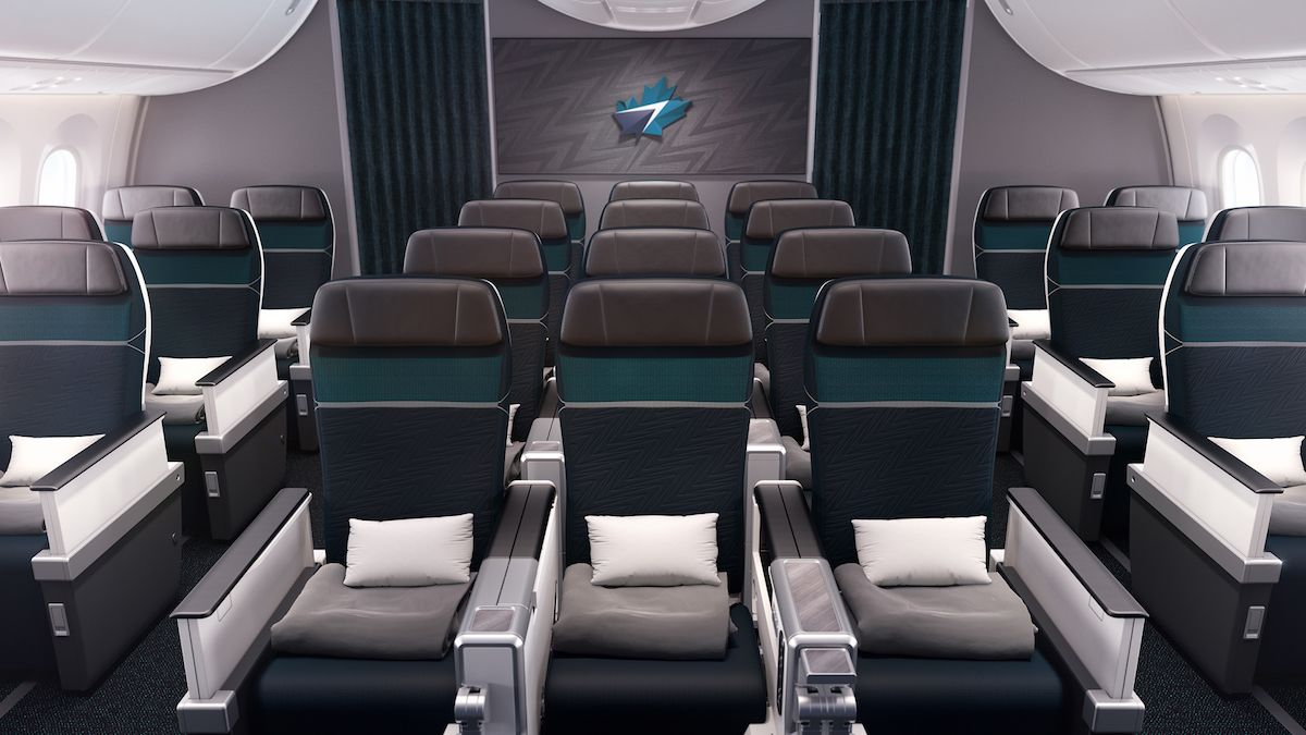 Westjet Reveals New 787 Interiors Livery One Mile At A Time