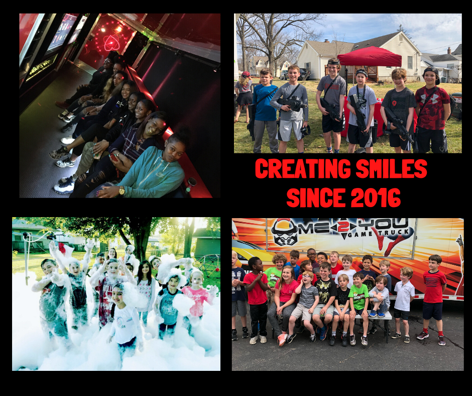 4 years of smiles (as of last month).  So appreciative of everyone that has given us the chance to make this happen.  We look forward to seeing everyone again soon.    Enjoy the weekend!  #gametruck #stlouis #birthdaypartyideas #corporateevents #schoolevents #churchevents #afterprom