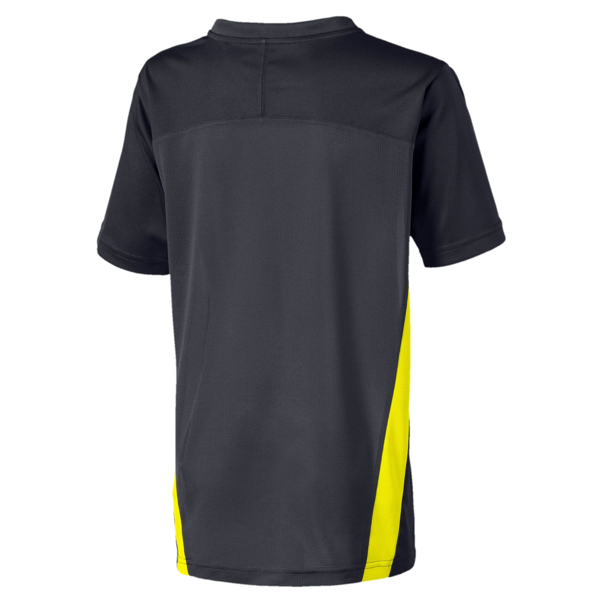 Men's PUMA Football NXT Boys' Training T-Shirt in Ebony/Yellow Alert size 12-18 Months #teedesign