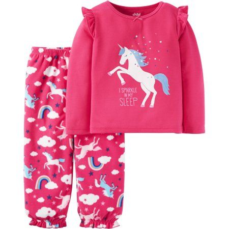 e04042331 Child of Mine By Carter s Baby Toddler Girl Pajamas 2 Pieces