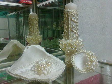 Vela para bautizos imagui - Decoracion de velas para bautizo ...