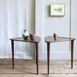 Mid-Century Side Tables Pair - dang!  Sold out $235