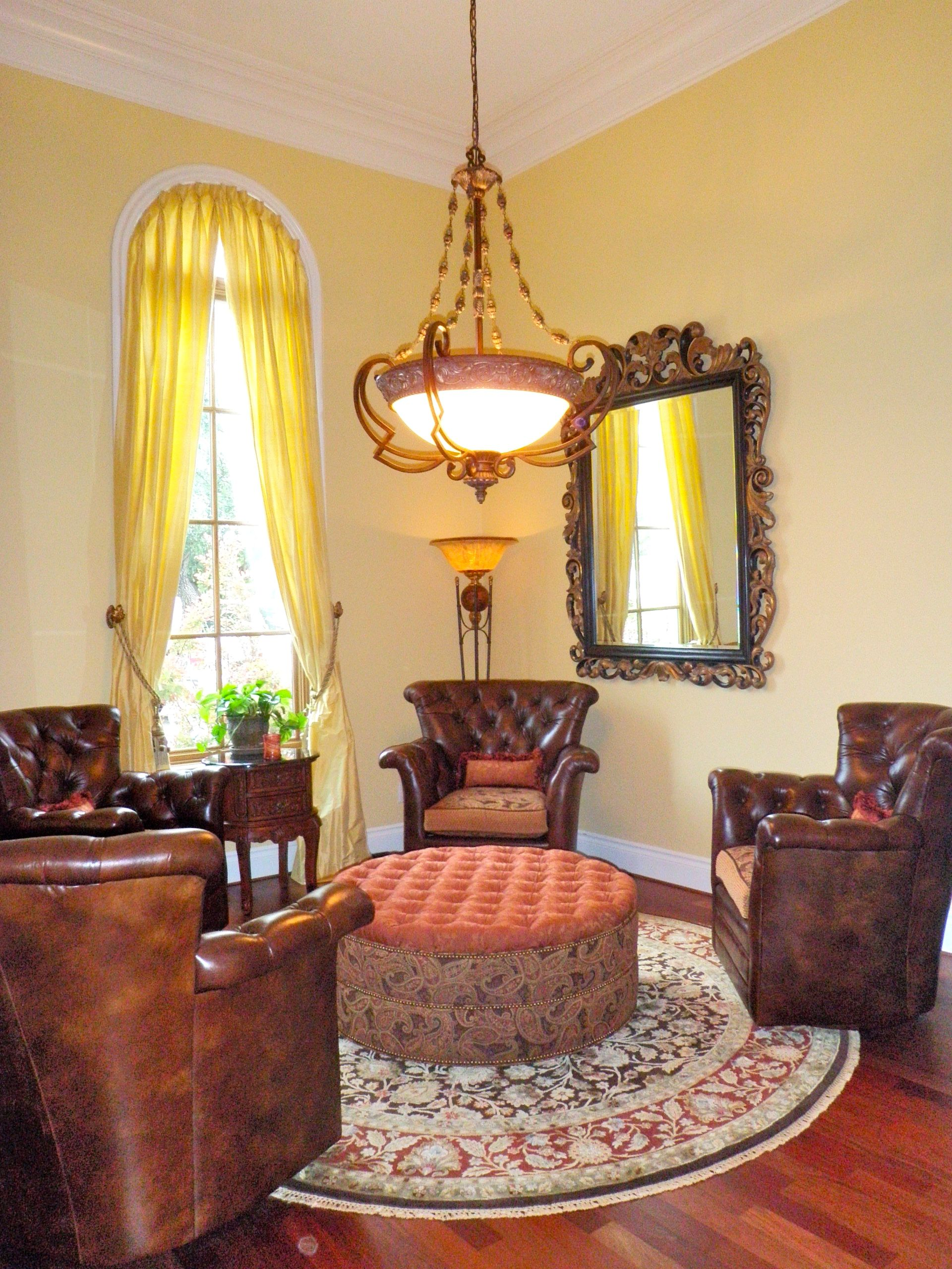 Turned A Small Formal Dining Room Into An Inviting Tuscan Wine