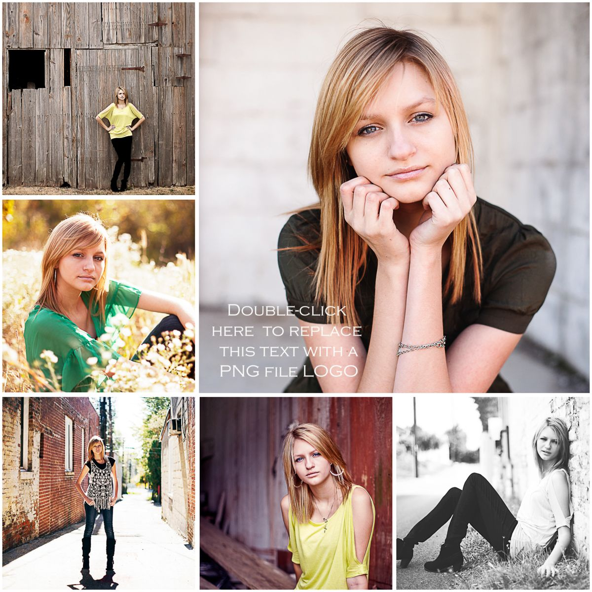 Senior Picture Ideas for Girls | Free Collage Templates for ...